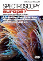 Spectroscopy Europe Cover Issue 30_06
