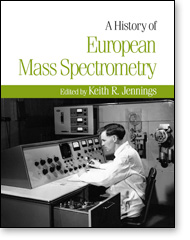 A History of European Mass Spectrometry Cover